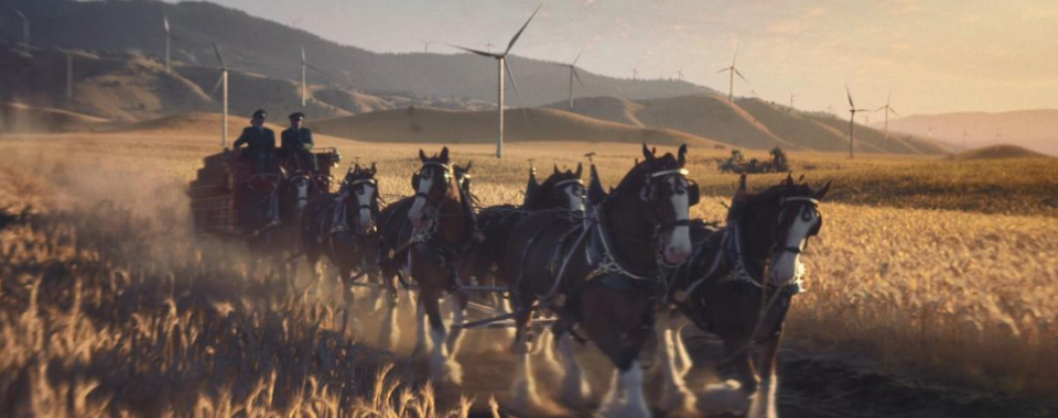 Budweiser 2019 Super Bowl Commercial Wind Energy