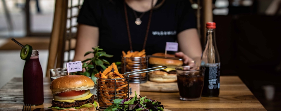 Plant-based meat alternative burgers are on the rise.