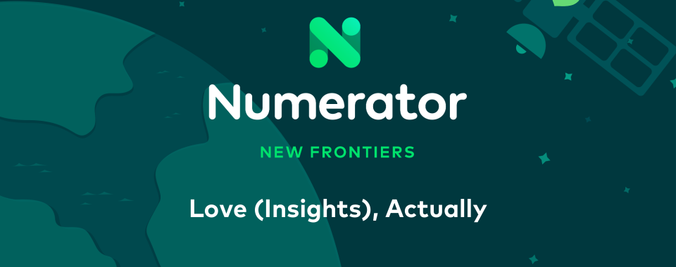 Numerator report cover - Love Insights, Actually